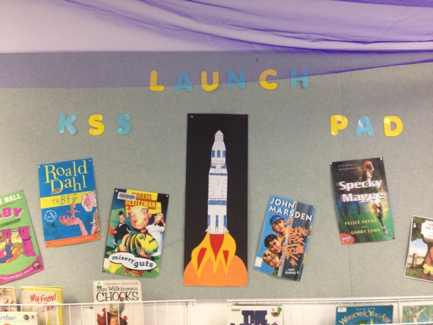 The Launch Pad room is a dedicated reading room